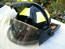 CAIRNS 1010 FIREFIGHTER HELMET-NO LINER-PRE-OWNED-APPEARS NEVER USED
