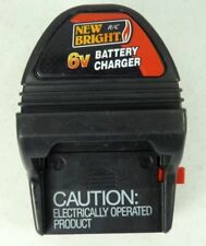 RC Battery Charger New Bright 6 Volt Wall Charger 1/10 1/12 1/14 Replacment