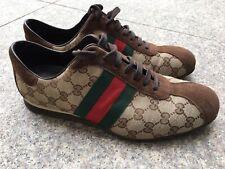 GUCCI  monogram Mens classic sneakers size 8 Rrp 550 eur