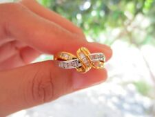 .30 Carat Diamond Twotone Gold Ring 10k sepvergara