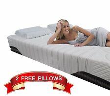 10 inch FULL Cool MEDIUM SOFT Memory Foam Mattress Bed With 2 FREE GEL Pillows