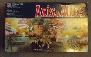 Vintage Axis & Allies 2nd Ed. Board Game (1986) Parts & Pieces only - You Choose
