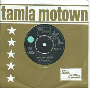 R. Dean Taylor:Don't fool around/Poor girl:UK Tamla Motown:TMG 909