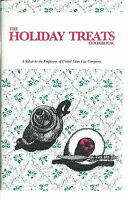 NL-009 - The Holiday Treats Cookbook, United Cities Gas Co, 1988-89 Vintage