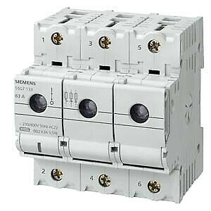 Siemens Lasttrennschalter D02 3polig 5SG7133