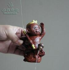 Handmade ceramic Yixing tea pet Monkey King sprinkler furnishings accessories