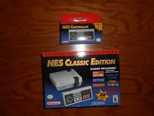 Nintendo NES Classic Edition w/OEM  NES Controller BNIP Expedited Shipping! 2018