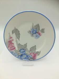 Shelley Phlox Art Deco Vintage Side Plate 6 1920s-1930s 6 inches - beautiful!