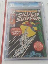 Silver Surfer 14  CGC 8.5   1970
