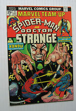 Marvel Team-Up #21 (MCG 5/74) FN/VF to VF- Dr. Strange app./Gil Kane-c/a. Nice!!