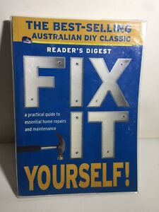 Reader's Digest Book (2008) Fix It Yourself Guide2Home Repairs Maintenance DIY