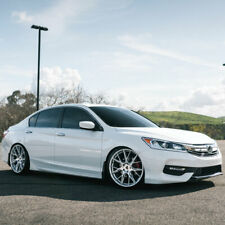 "20"" Blaque Diamond BD-F18 Silver 20x9 Forged Wheels Rims Fits Honda Accord"