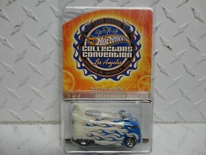 Hot Wheels 23rd Annual Convention White/Blue Volkswagen Drag Bus
