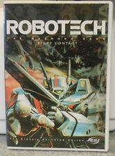 Robotech - Vol. 1: The Macross Saga - First Contact (DVD, 2001) RARE ANIME