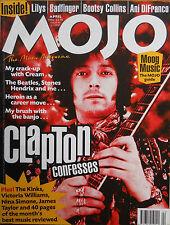 MOJO 53 – APRIL 1998 – ERIC CLAPTON COVER