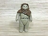 Vintage Kenner Star Wars ROTJ Figure Ewok Chief Chirpa with Hood 1983