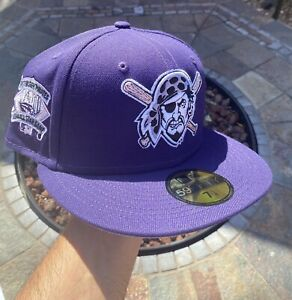 SportsWorld165 Lavender Pittsburgh Pirates 1994 All Star Game 7 1/8 not hat club