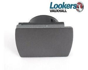 Genuine Vauxhall Astra H & Zafira B Power Socket Outlet Cover Charcoal 13156391