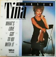 """Tina Turner 12"""" What's Love Got To Do With It - France"""