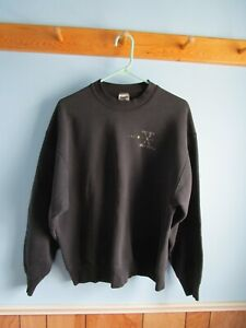 X-FILES Vintage ORIGINAL Truth Is Out There Sweatshirt Black 1990s