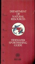 Tidewater Sportfishing Guide (1974) Md Department of Natural Resources 36-pages