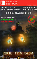 Diablo 3 - Nintendo Switch - Fully Modded PRIMAL Set - Firebird - w/ Magic Find