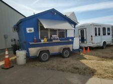 8.25' x 11.2' Shaved Ice/Snowball Concession Trailer with Ford E350 Bus for Sale
