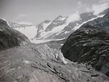 Vintage Photographie 1955 Glacier Tré-la-Tête Les Contamines Alpes Montagne