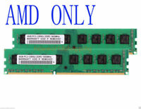 For AMD Chipset 16GB 2X 8GB 8 GB DDR3 1600MHz PC3-12800U DIMM Desktop RAM Memory