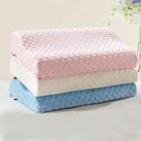 Home Rebound Memory Foam Sleeping Pillow Cases Pillowcase Neck Cervical Health