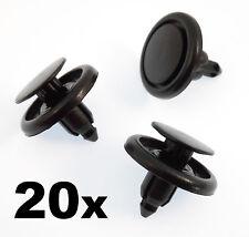 20x Toyota Plástico Remache Recorte Clip-Rueda Arco Forro Guardabarros Forro Protector de salpicaduras