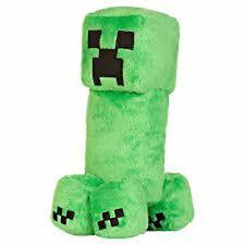 Plush Minecraft Skeleton Toy Creeper BRAND Official Soft 13 White UK SELLER
