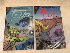 FEUD HEAVY HITTERS Epic Comics 1993 Series #1- # 2