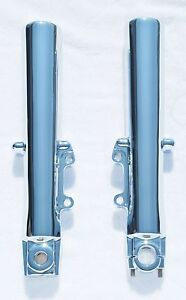 Harley Electra Glide Standard 2000-2013 Chrome Lower Slider Fork Legs Exchange