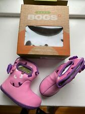Bogs Toddler Girls Pink Winter Snow Boots Size 6 New