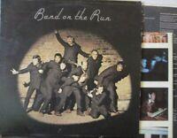 PAUL MCCARTNEY & WINGS - Band On The Run ~ VINYL LP + POSTER