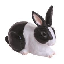 John Beswick JBTA1BW Rabbit Black and White Figurine