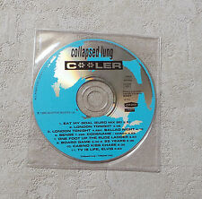 """CD AUDIO MUSIQUE INT/ COLLAPSED LUNG """"COOLER""""  CD PROMO 1996 DECEPTIVE 6337"""