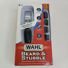 Wahl Beard Mustache Trimmer Personal Cordless Rechargeable 9916-4301 Shaver Neck