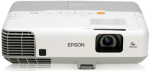 Epson PowerLite 95 3LCD Projector HD 1080i HDMI, New Lamp installed, + Remote