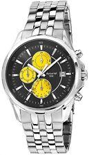 Accurist MB932BY Acciaio Inox Cronografo WR 50 M Orologio 2 ANNO DI GUAR RRP £ 149