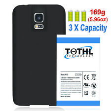 TQTHL For Samsung Galaxy S5 G900R4 Extended Replacement Battery+TPU 8800mAh