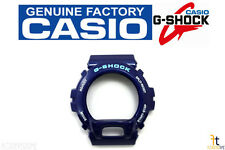 CASIO DW-6900CC-2W G-Shock Original Blue Metallic (Glossy) BEZEL Case Shell