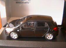 TOYOTA AURIS 2008 BLACK MINICHAMPS 1/43 NOIRE NOIR SCHWARZ SPECIAL EDITION LH