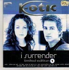 (CN300) K-otic, I Surrender - 2002 CD