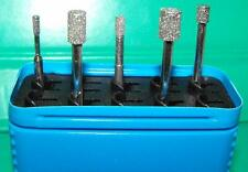 CBN grinding pin set 2,3,4,5,6mm QUALITY NEW