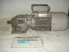 Nord inline gearmotor SK02-90S4-BREHL, 350rpm, 4.82:1, 1.5hp, 230/460, TEFC