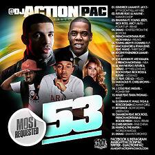 DJ ACTION PAC - MOST REQUESTED 53 (MIX CD) KENDRICK LAMAR,FABOLOUS,BEYONCE,WALE