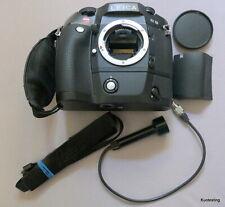 Leica Black R8 Body, Motor Drive R8/R9, Akku Pack W/Charger, Straps,& RC Cord.