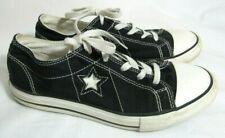 New listing Converse One Star Black Junior Tennie Shoe Sneaker Size 5.5 EUC